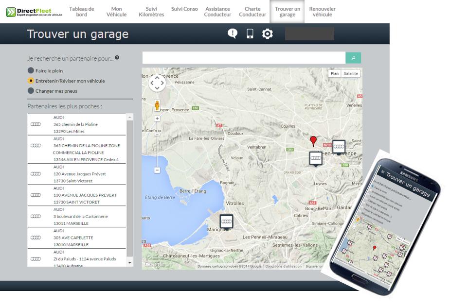 Outils de pilotage client optimisez votre flotte automobile for Logiciel gestion garage automobile